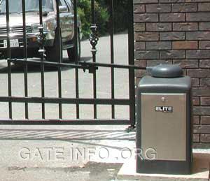 elite swing gate opener manual